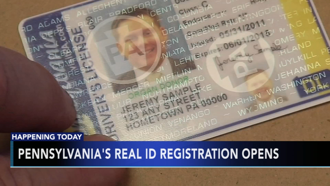 Pennsylvanias REAL ID registration opens. Matt ODonnell reports during Action News Mornings on September 4, 2018.