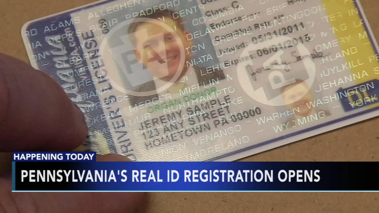 Pennsylvanias REAL ID registration opens. Matt ODonnell reports during Action News Mornings on September 4, 2018.