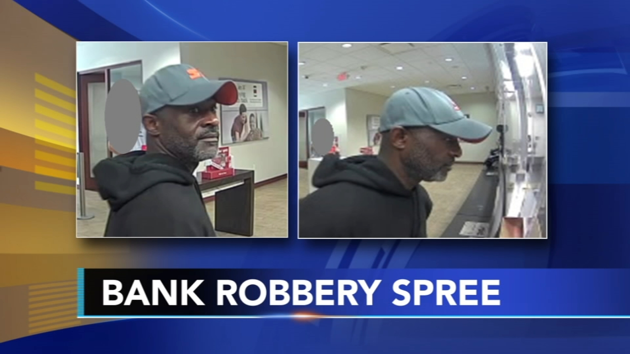 Philadelphia police and the FBI are looking for a man they say tried to hold up two banks as reported during Action News at 10 on Septmember 5, 2018.