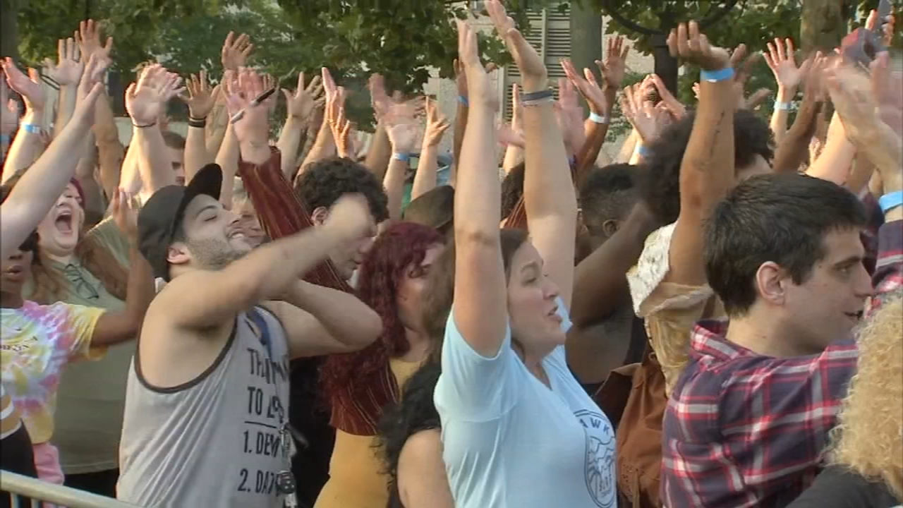 Auditions for American Idol held at Franklin Square. Alicia Vitarelli reports during Action News at 4 p.m. on September 6, 2018.