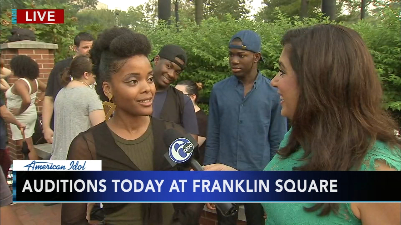 American Idol auditions at Franklin Square. Alicia Vitarelli reports during Action News Mornings on September 6, 2018.