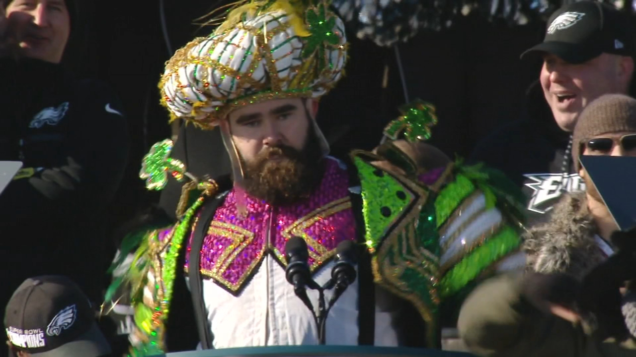 Kelces Mummers costume now available to Eagles fans. Alicia Vitarelli reports during Action News at 4 p.m. on September 6, 2018.