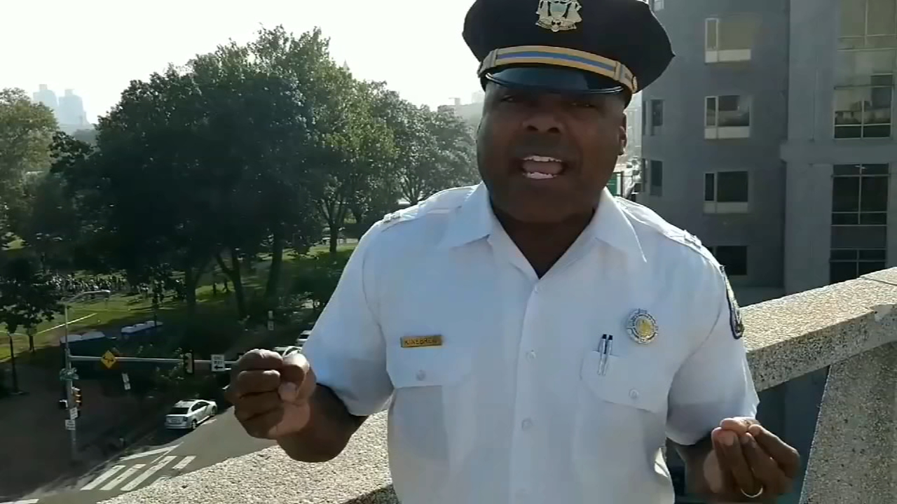 Is Captain Kinebrew going to Hollywood? Video from Philadelphia Police Department on September 6, 2018.