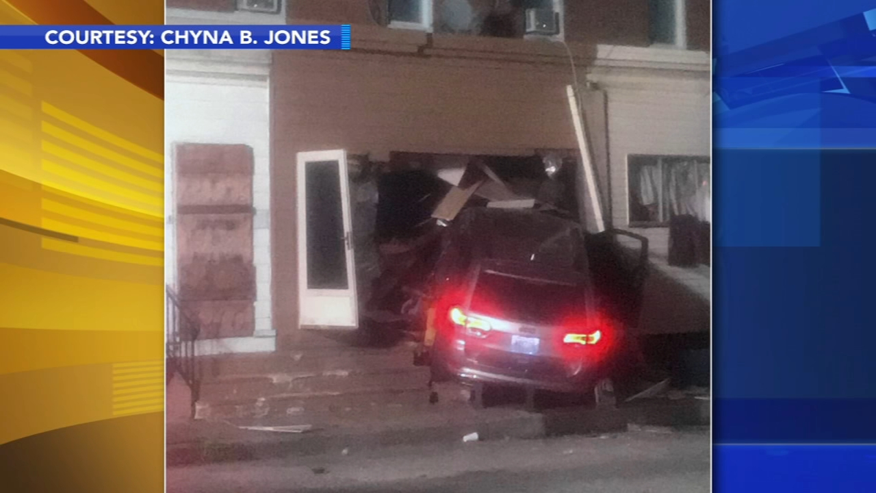 Car crashes into Camden home. Bob Brooks reports during Action News at Noon on September 7, 2018.