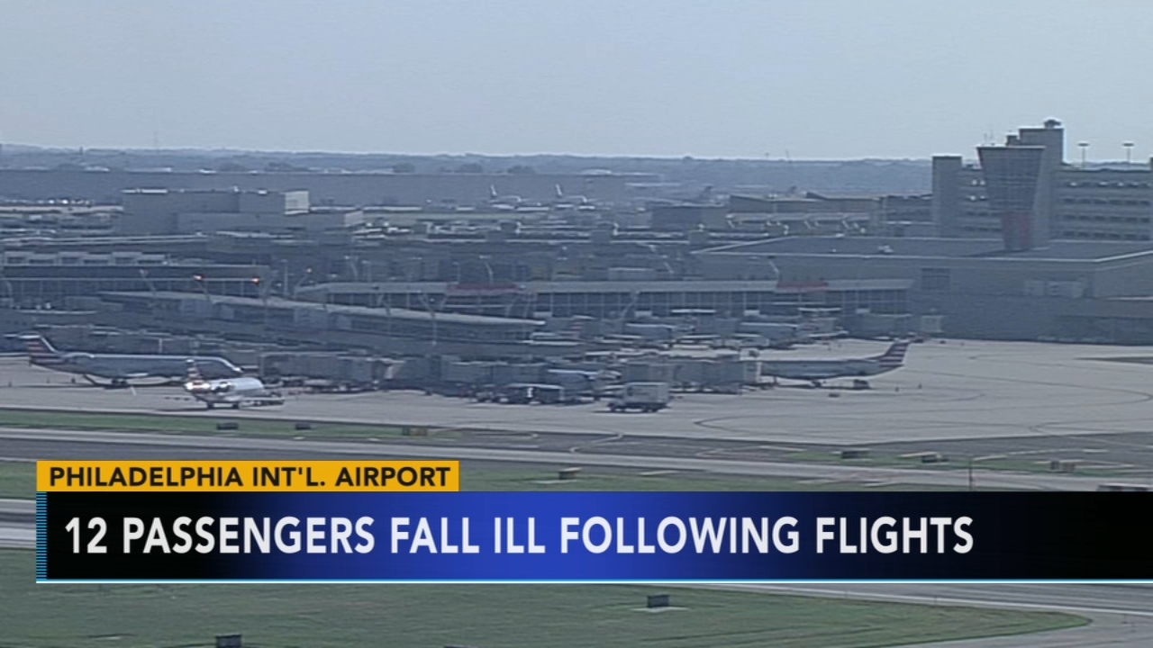 Passengers on 2 flights from Europe arrive sick in Philly. Watch this report from Action News at 10pm on September 7, 2018.