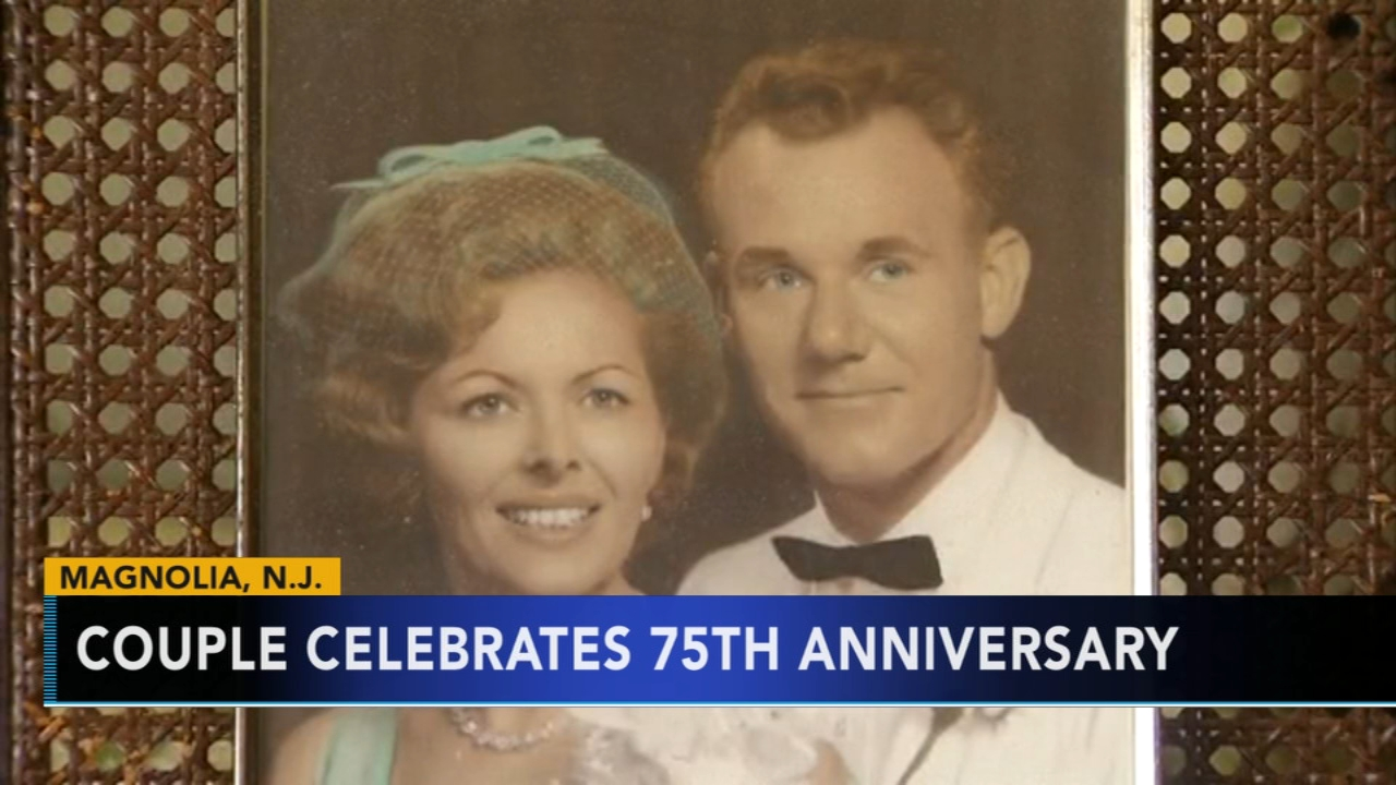 New Jersey couple celebrates 75 years of marriage. Nydia Han reports during Action News at 7 a.m. on September 9, 2018.