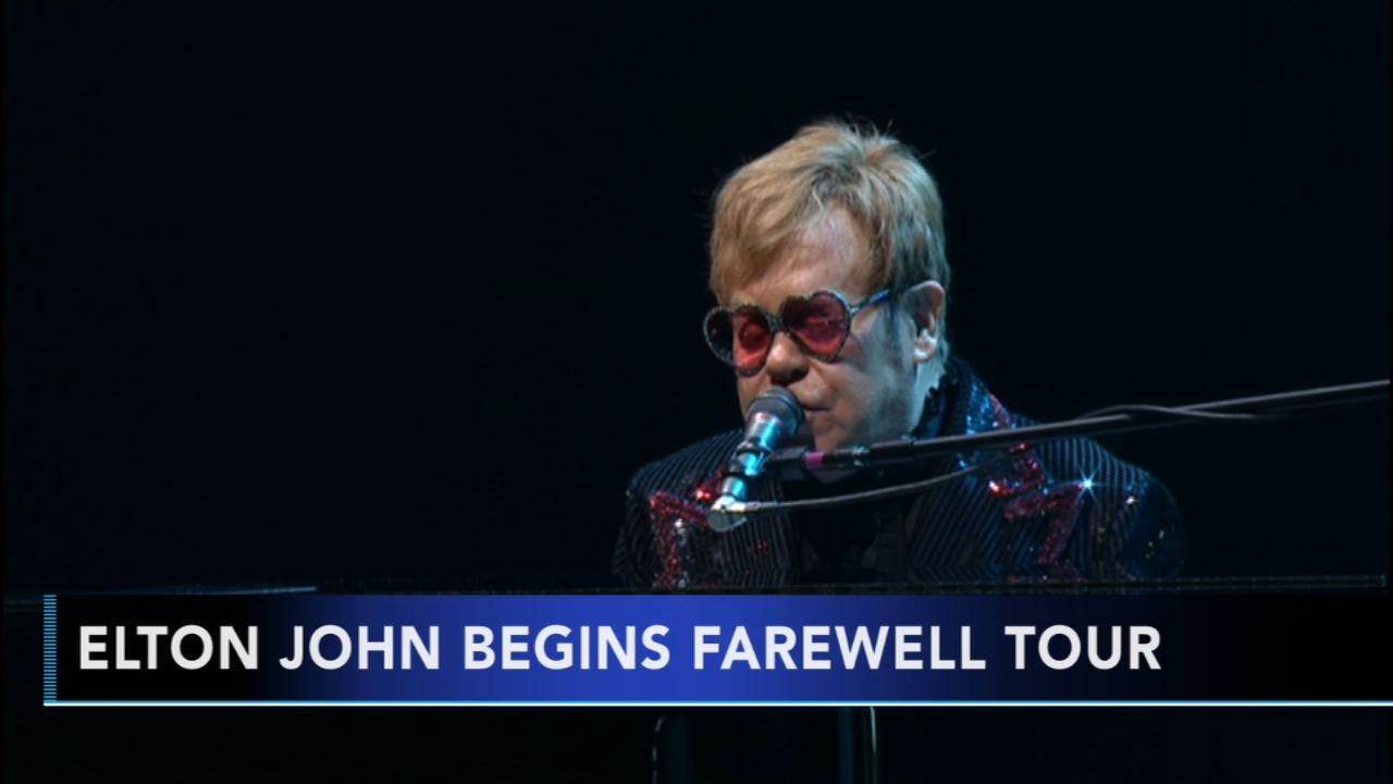 Elton John kicks off farewell tour in Allentown. Gray Hall reports during Action News at 6 a.m. on September 9, 2018.
