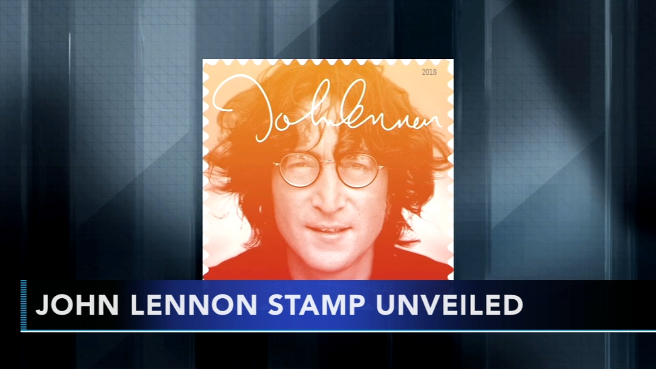 John Lennon celebrated with release of commemorative stamp. Gray Hall reports during Action News at 9 a.m. on September 9, 2018.