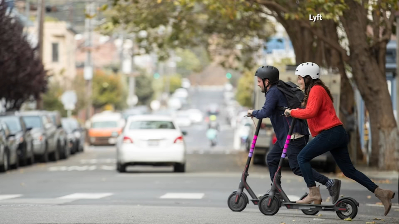 Lyft launches electric scooter service. Nydia Han reports during Action News at 9 a.m. on September 9, 2018.