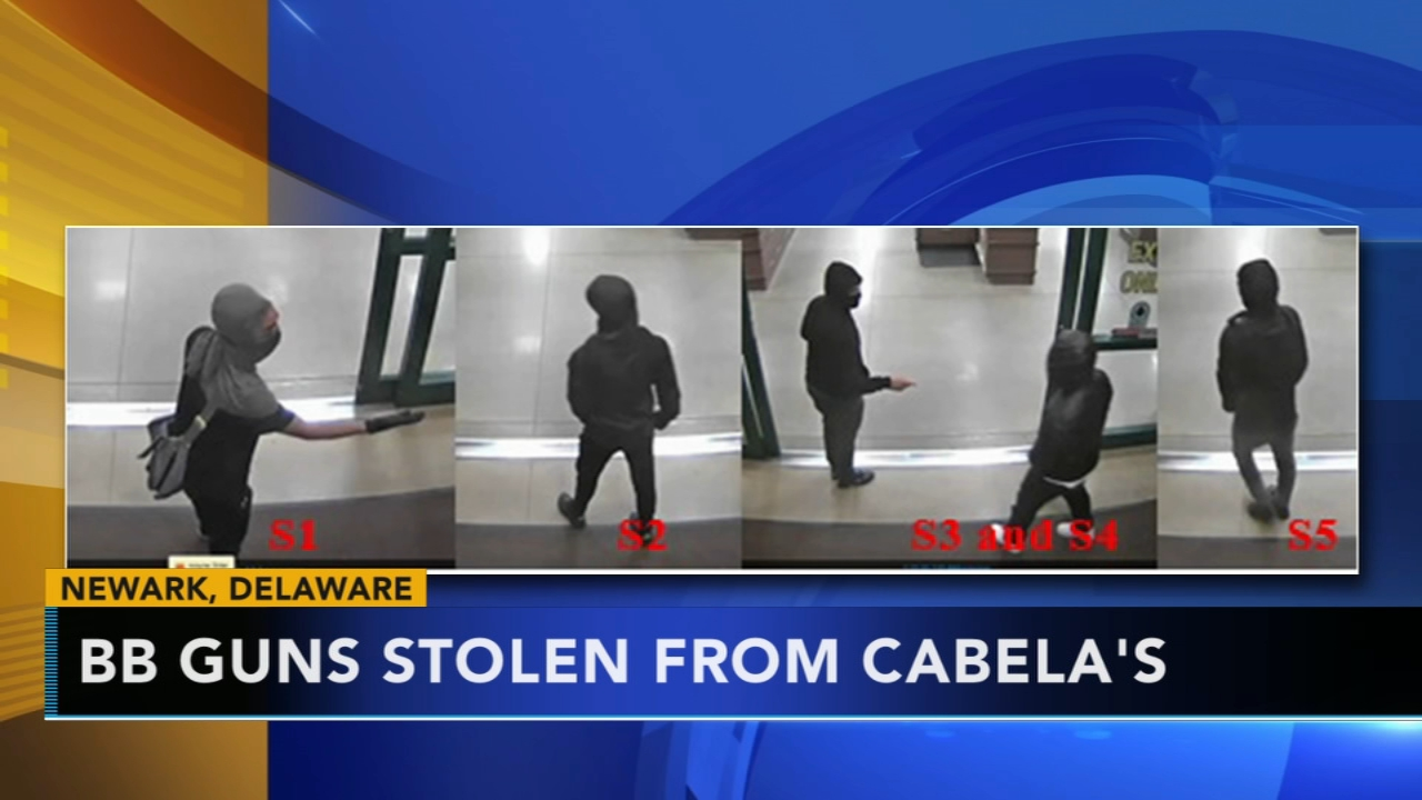 BB guns stolen from Cabelas: as seen on Action News at 4 p.m., September 10, 2018