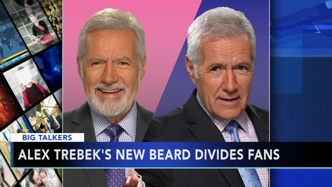 Jeopardy host Alex Trebek debuts beard, causing stir on Twitter. Watch the report on Action News at 4:30 p.m. on September 10, 2018.