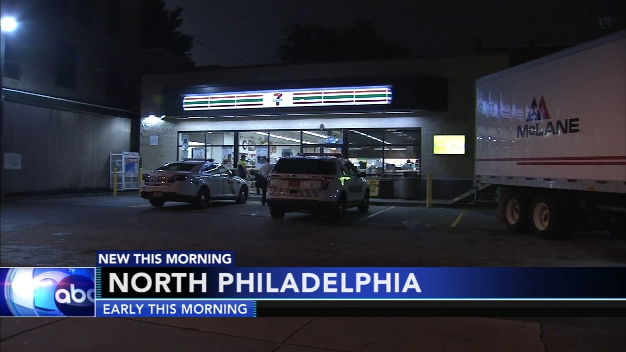 Police investigate armed robbery at North Philadelphia 7-Eleven. Tamala Edwards reports during Action News at 6 a.m. on September 11, 2018.