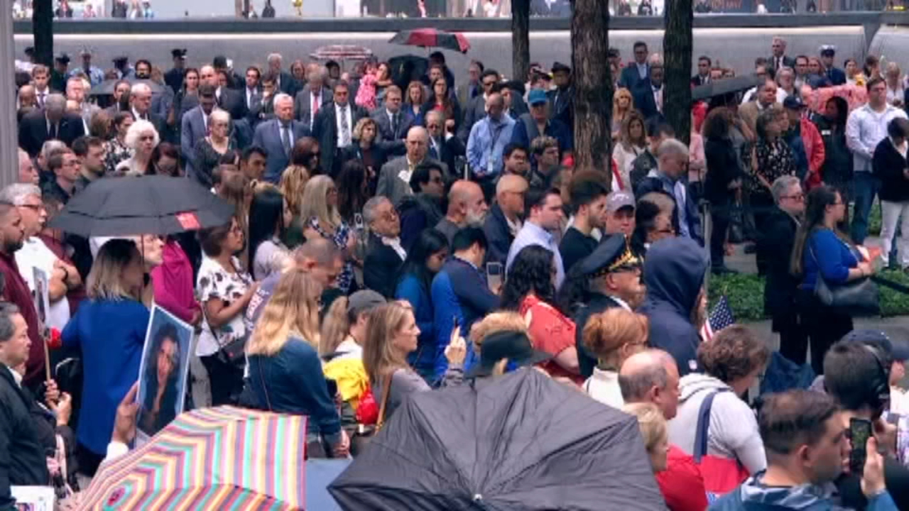 Nation remembers 9/11 victims on 17th anniversary. Alicia Vitarelli reports during Action News at 4 p.m. on September 11, 2018.