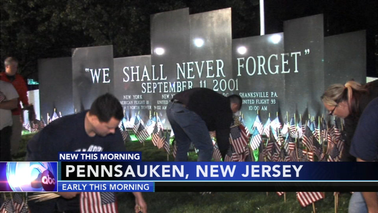 Pennsauken first responders, residents remember lives lost in 9/11 attacks. Matt ODonnell reports during Action News at 4 a.m. on September 11, 2018.