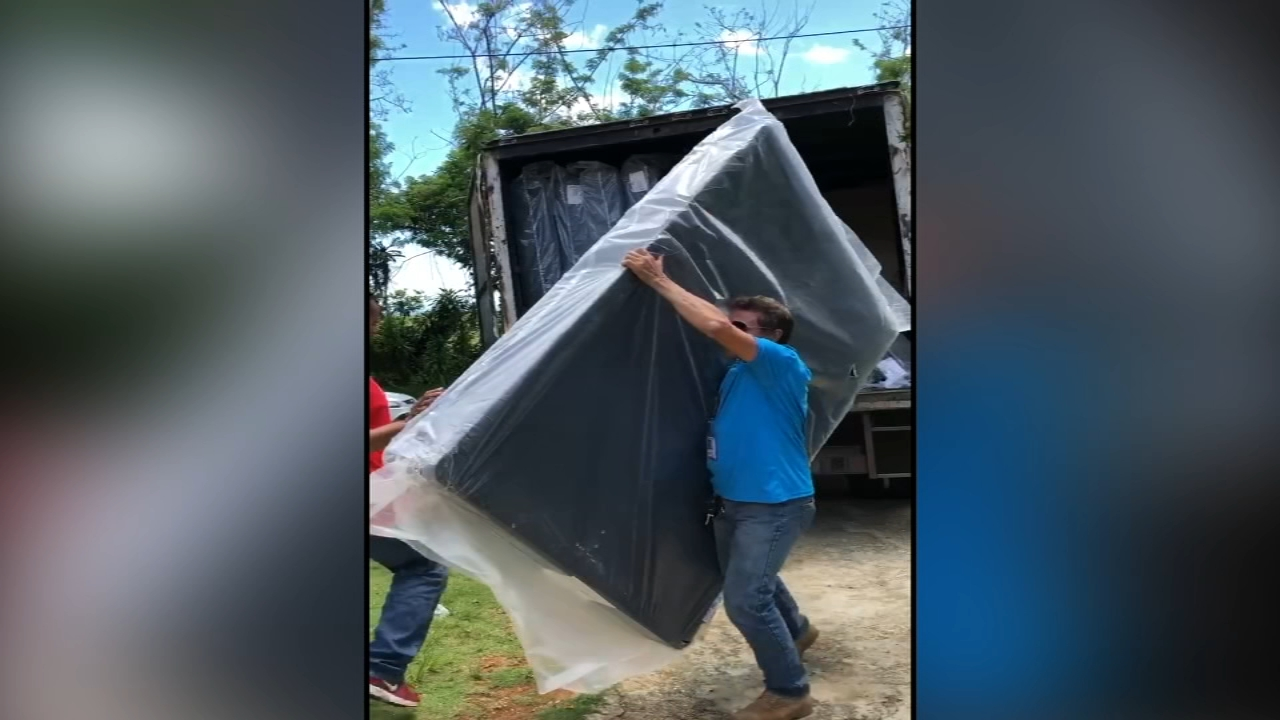 Puerto Rico still needs aid while it recovers from Hurricane Maria. John Rawlins reports during Action News at 4:30 p.m. on September 11, 2018.