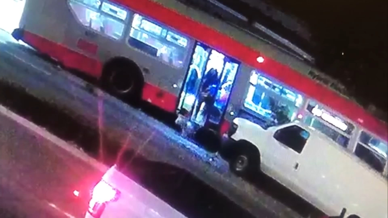 Dash cam video captures bus crash in San Francisco. Matt ODonnell reports during Action News at 4 a.m. on September 11, 2018.