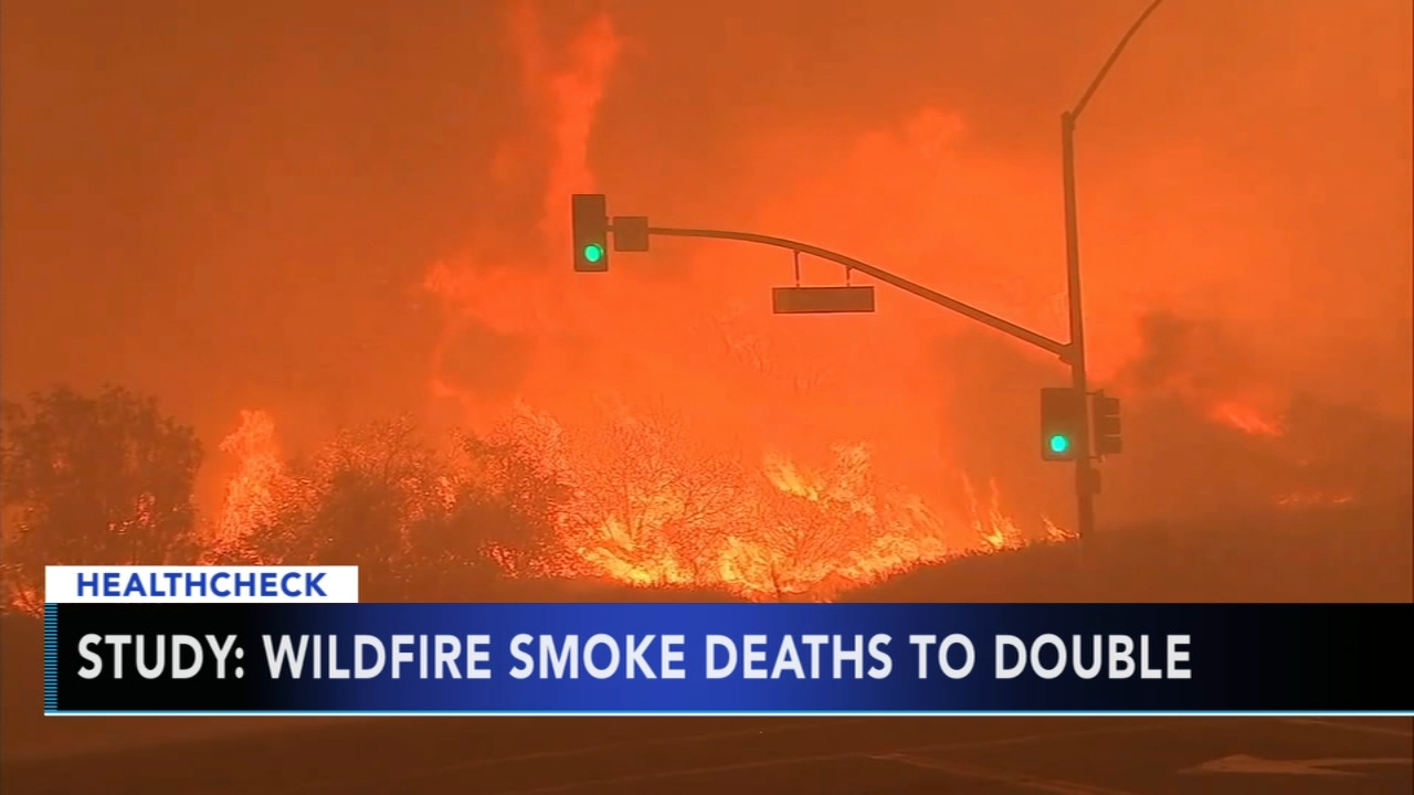 Study says wildfire smoke deaths will double - Rick Williams reports during Action News at 5pm on September 11, 2018.