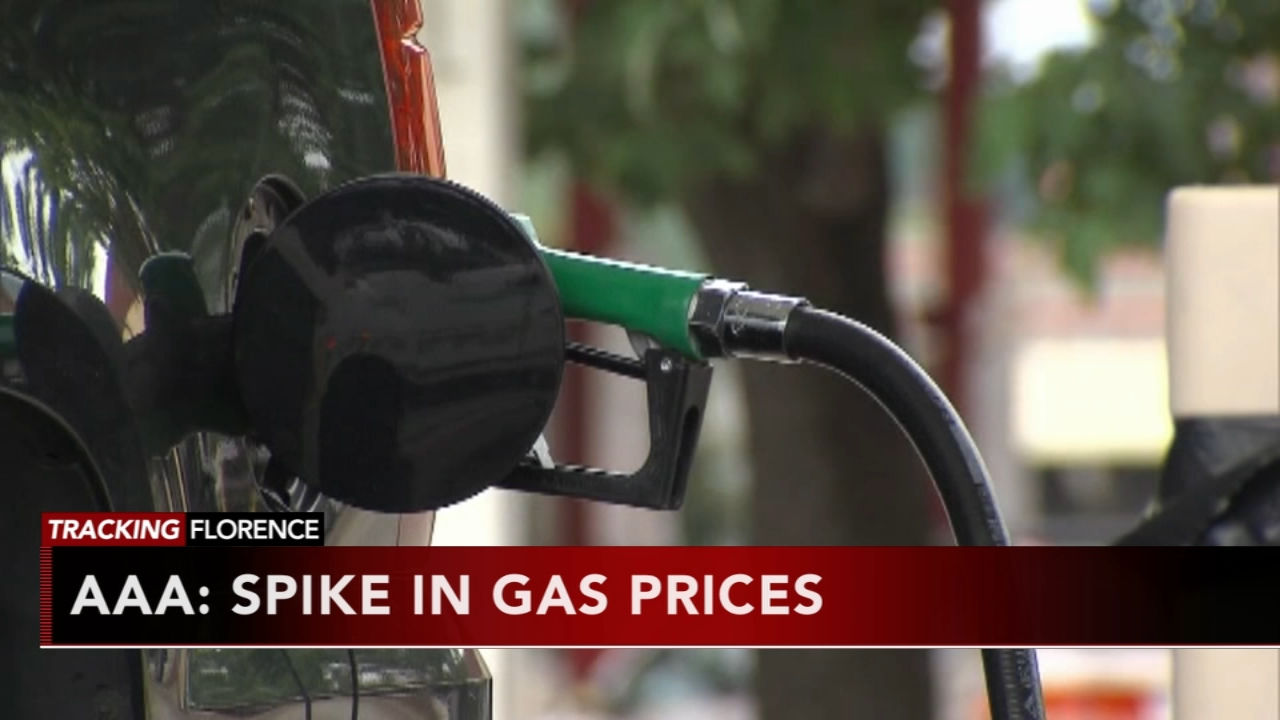 AAA: Spike in gas price expected.  Matt ODonnell reports during Action News Mornings on September 12, 2018.
