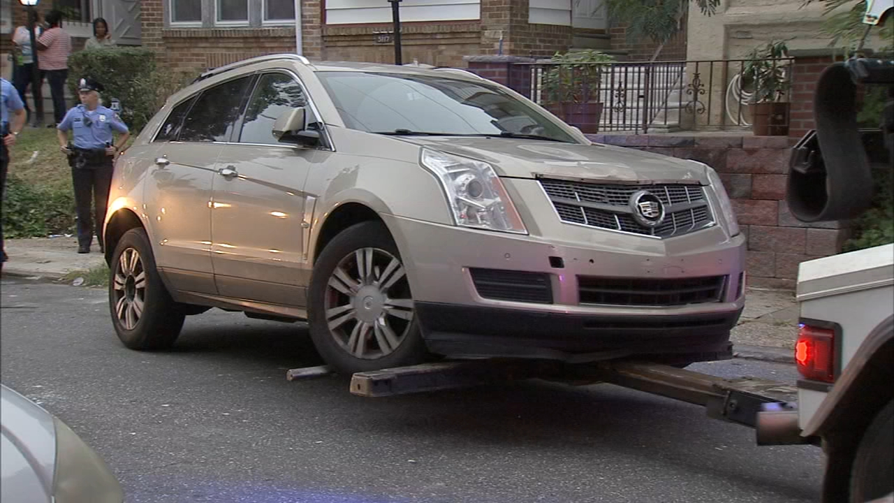 Police: Vehicle found in Olney hit-and-run that left girl, 9, injured. Rick Williams reports during Action News at 12:30 p.m. on September 12, 2018.