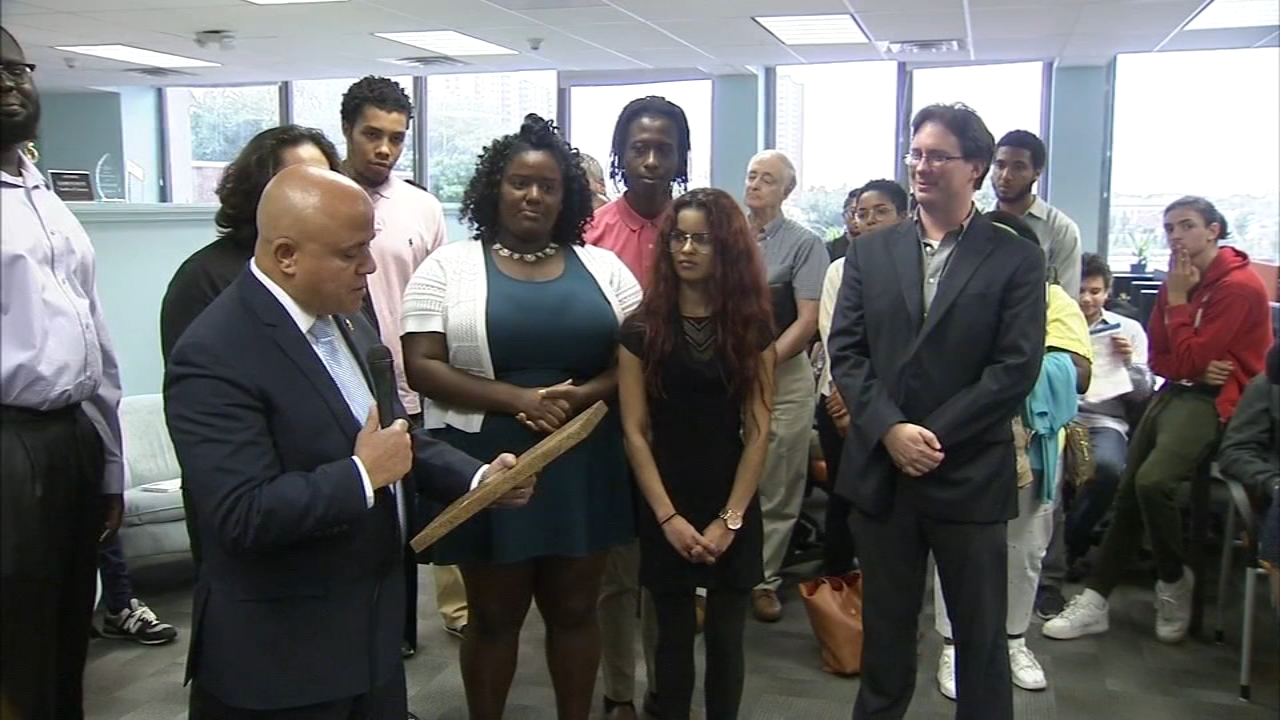 New job training facility opens in Camden.Alicia Vitarelli reports during Action News at 4 p.m. on September 12, 2018.
