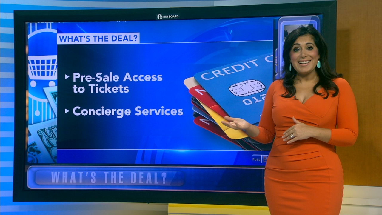Whats the Deal: Credit card perks - Alicia Vitarelli reports during Action News at 4:30pm on September 12, 2018.