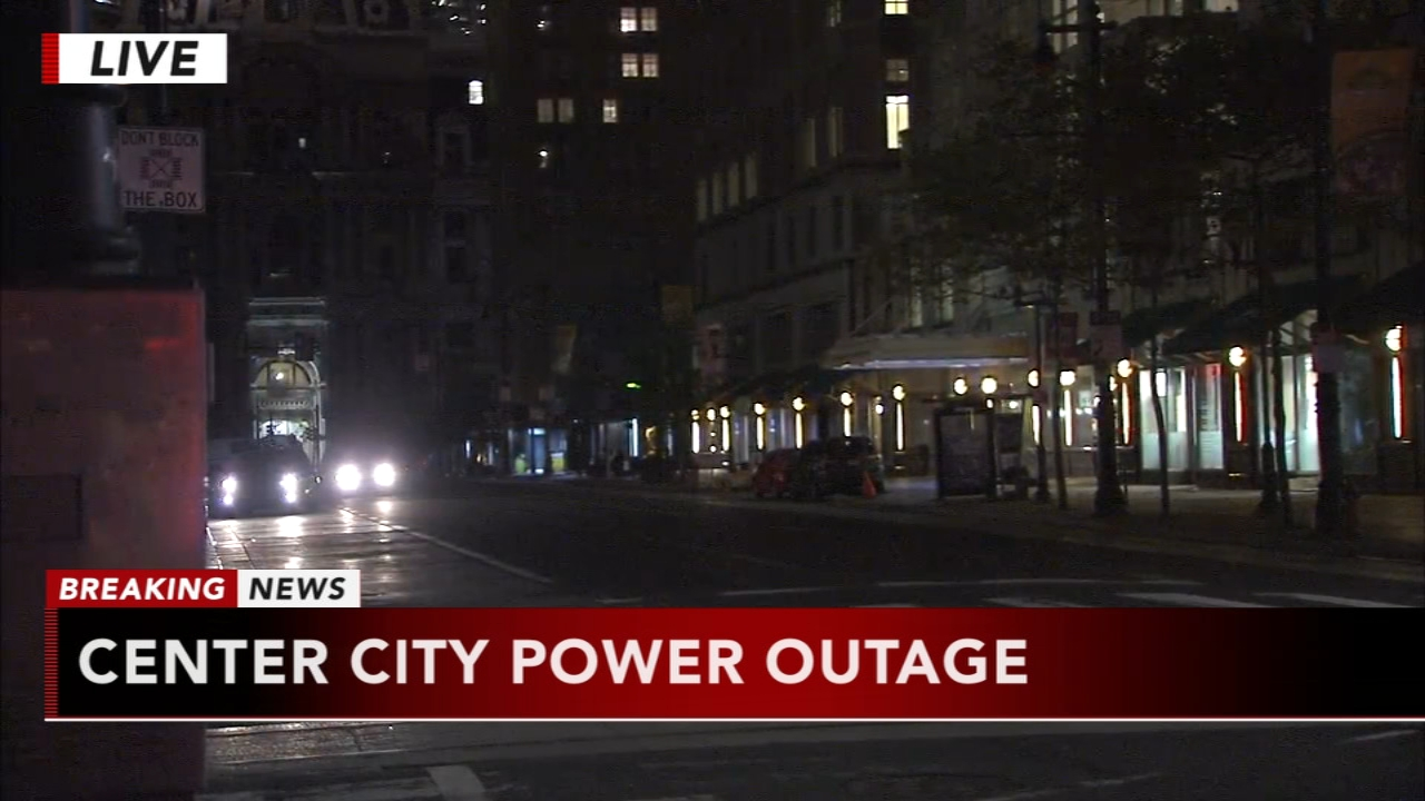 Power outage near City Hall. Tamala Edwards reports during Action News Mornings on September 13, 2018.