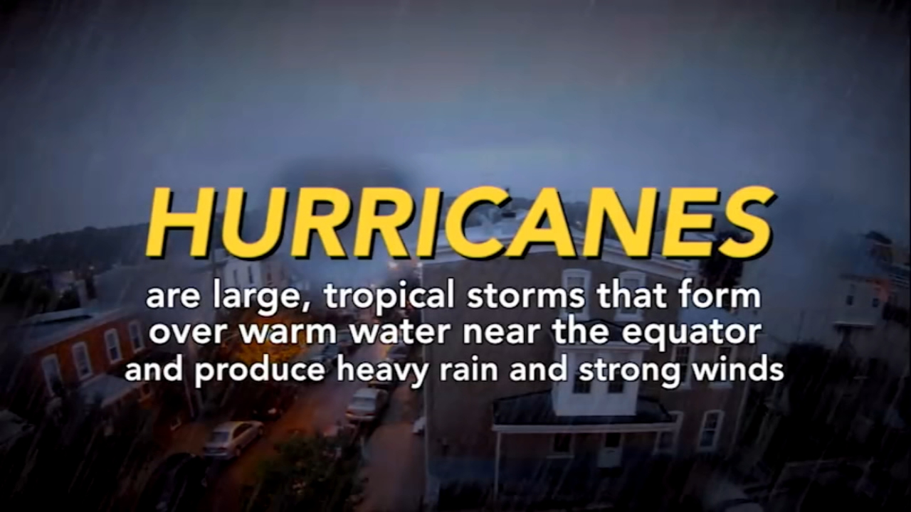 VIDEO: Whats the difference between different types of tropical storms?