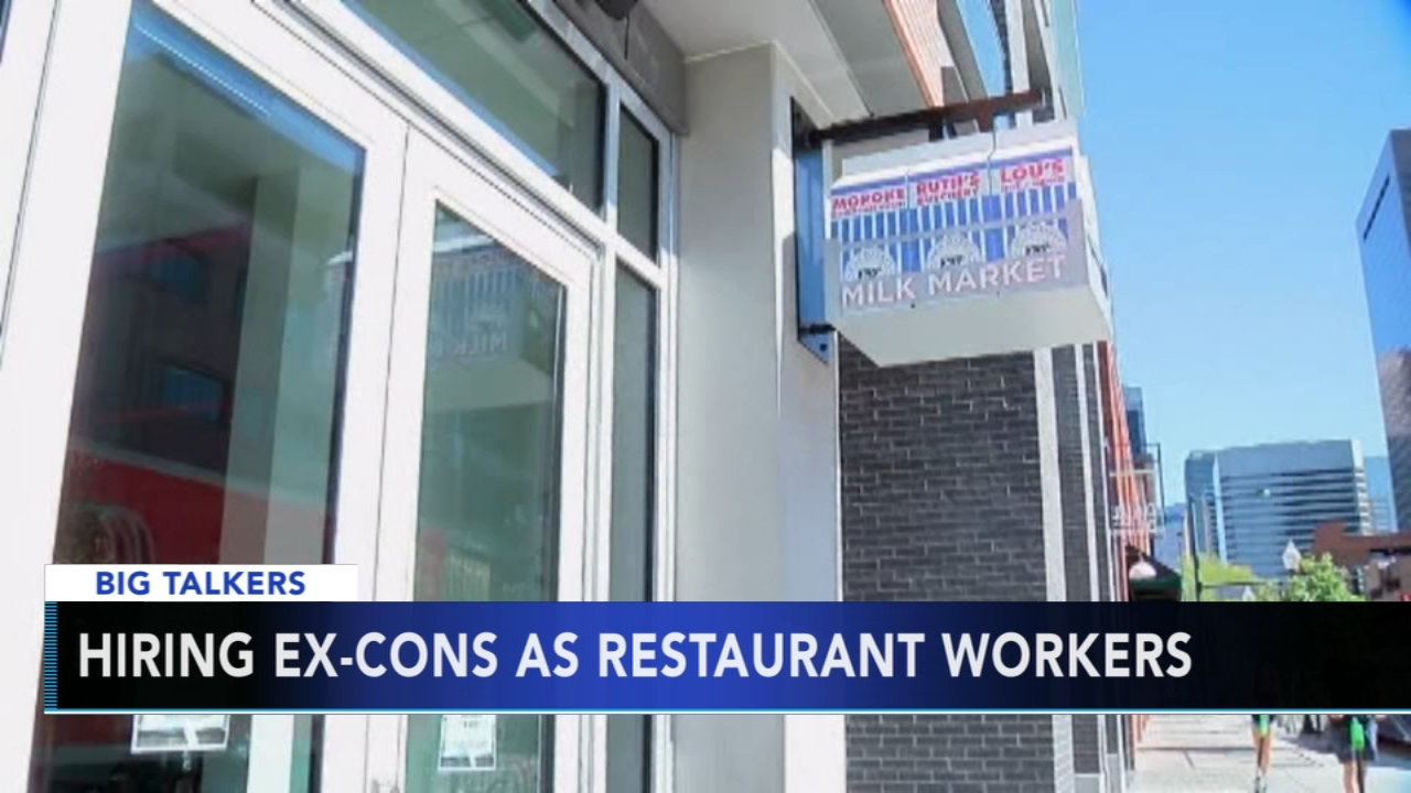 Restaurant owner hires former prisoners due to hiring drought. Alicia Vitarelli reports during Action News at 4 p.m. on September 13, 2018.