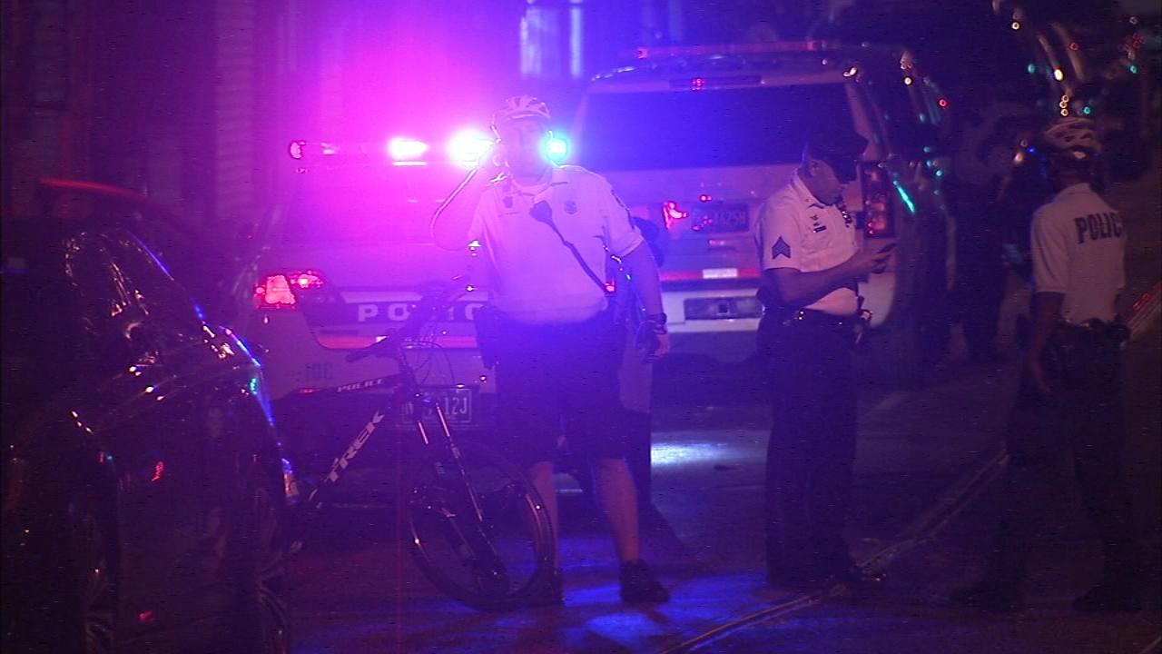 Man shot while riding bike in West Philadelphia. Matt ODonnell reports during Action News Mornings on September 13, 2018.