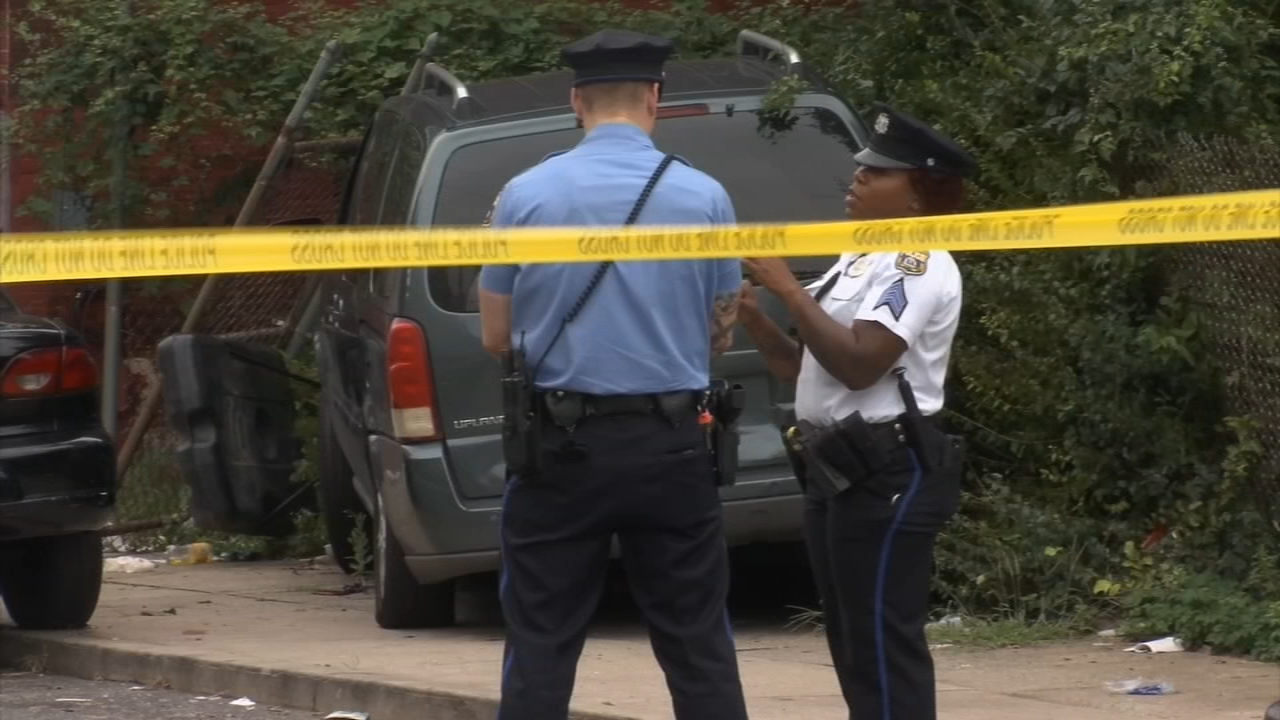 Man driving mini van shot and killed in North Philadelphia. Jim Gardner reports during Action News at  6 p.m. on September 14, 2018.