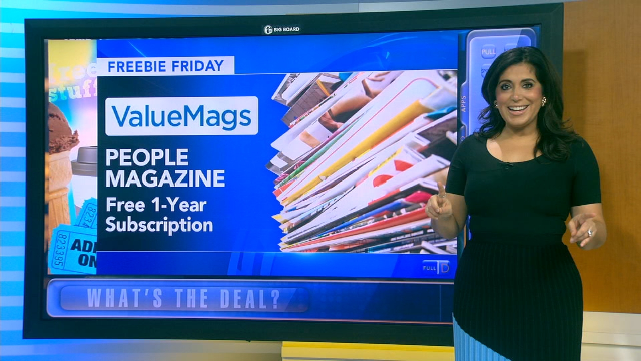 Here are your freebies being offered this Friday! Alicia Vitarelli reports during Action News at 4:30pm on September 14, 2018.