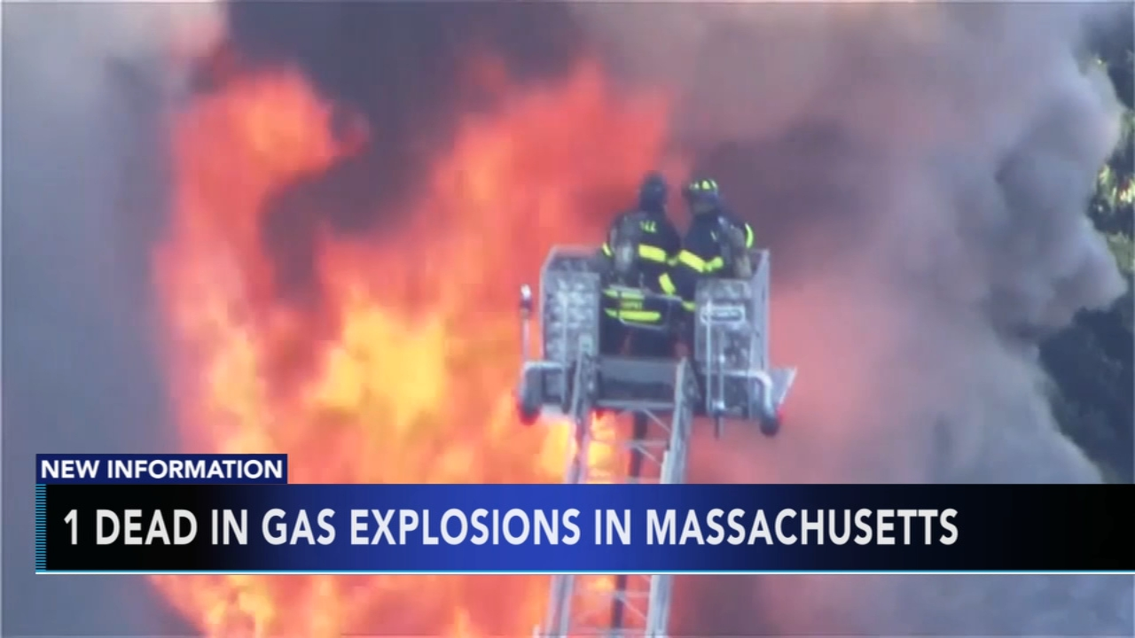 Deadly Massachusetts gas blasts destroy homes. Matt ODonnell reports during Action News Mornings on September 14, 2018.