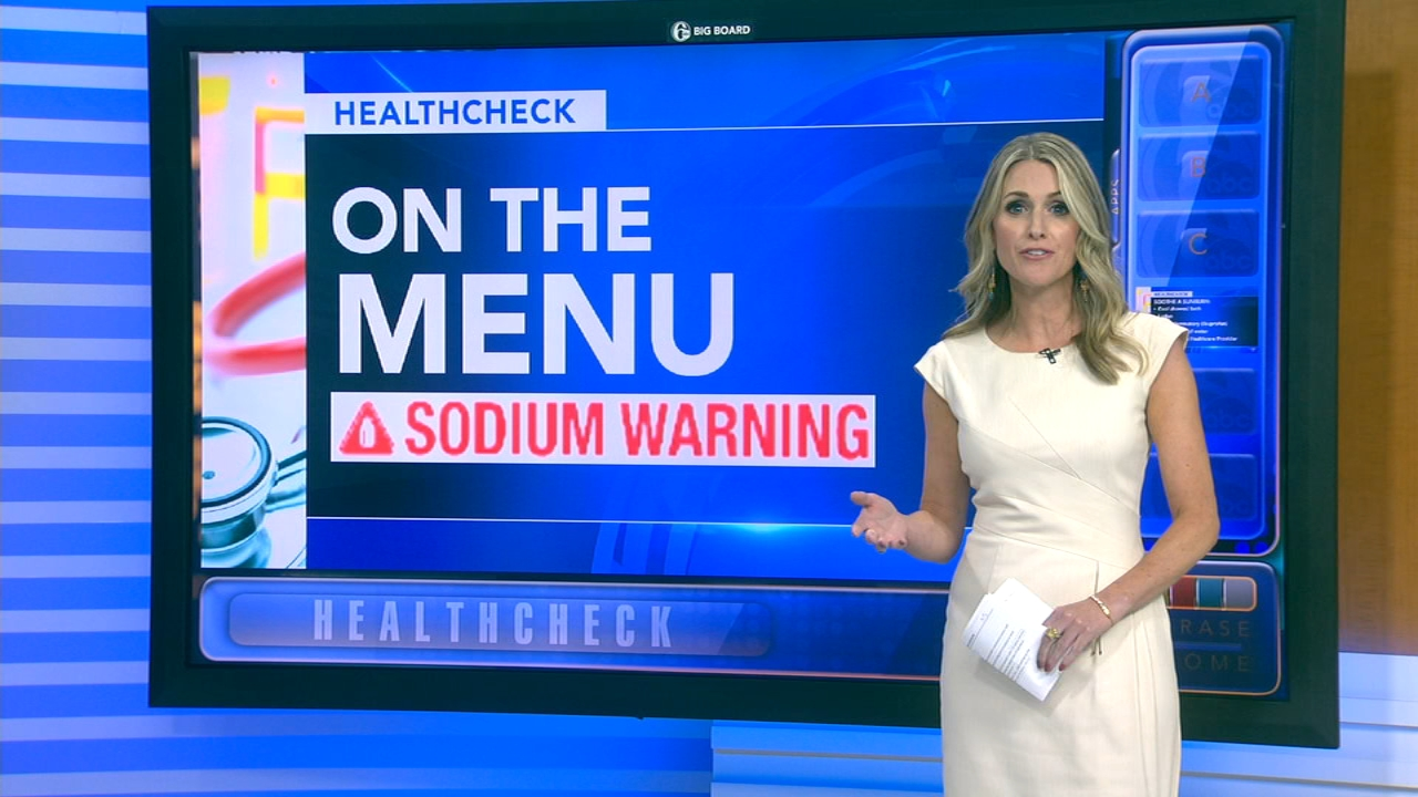 Mayor Kenney signs bill requiring sodium warning labels on menus: Ali Gorman reports during Action News at 5pm on September 14, 2018.