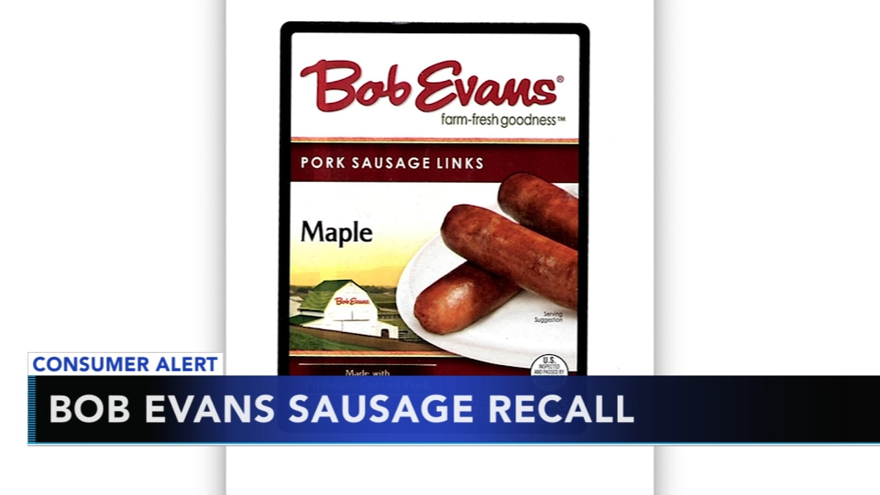 Bob Evans sausage links recalled, may contain plastic. Alicia Vitarelli reports during Action News at 6 a.m. on September 15, 2018.