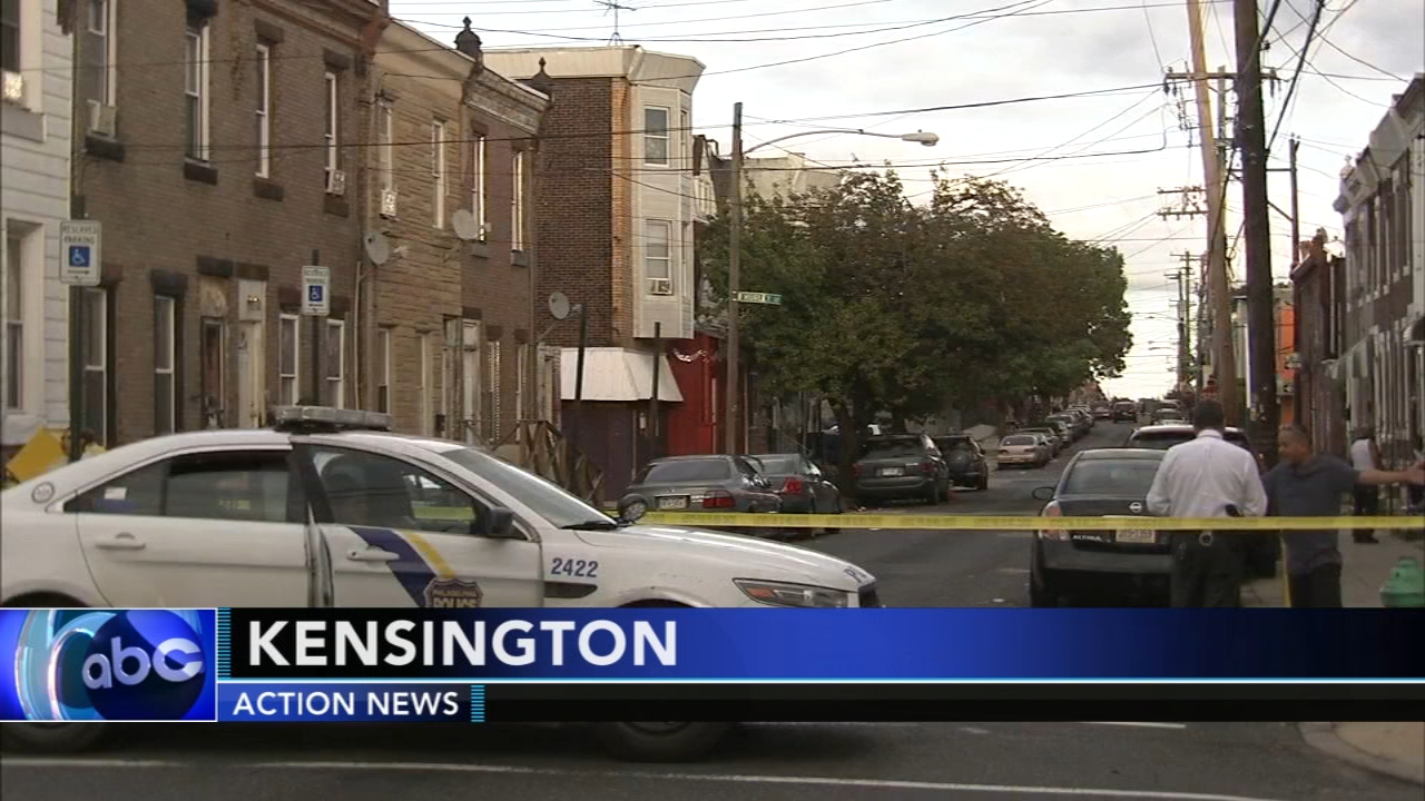 Man, 21, shot multiple times in Kensington. Walter Perez reports during Action News at 10 p.m. on September 15, 2018.