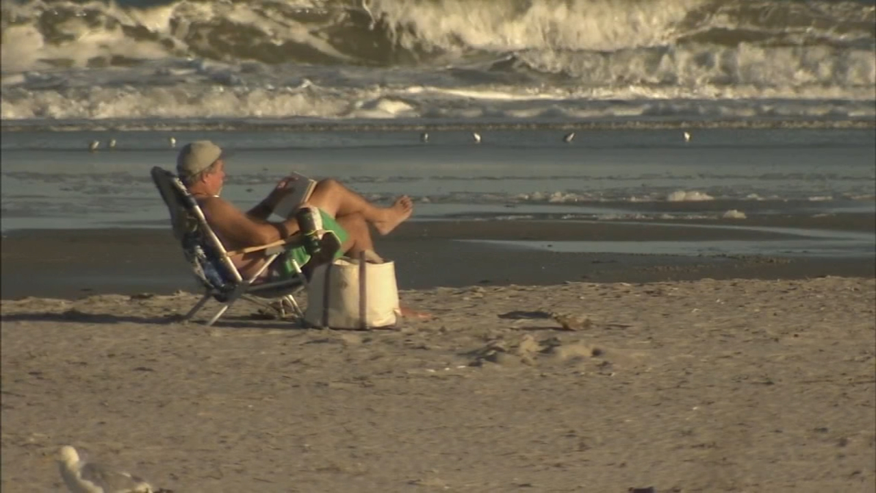 Jersey Shore still dealing with rip currents after heavy surf advisory ends.Annie McCormick reports during Action News at 7 p.m. on September 15, 2018.