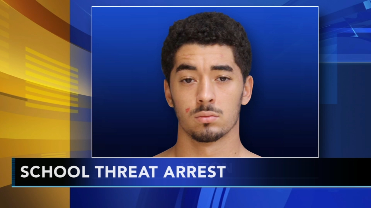 21-year-old arrested after making threats towards Quakertown High School. Alicia Vitarelli reports during Action News at 6 a.m. on September 15, 2018.