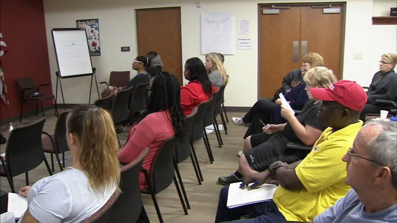 Allentown Red Cross trains volunteers to help during disasters. Bob Brooks reports during Action News at 10:30 p.m. on September 15, 2018.