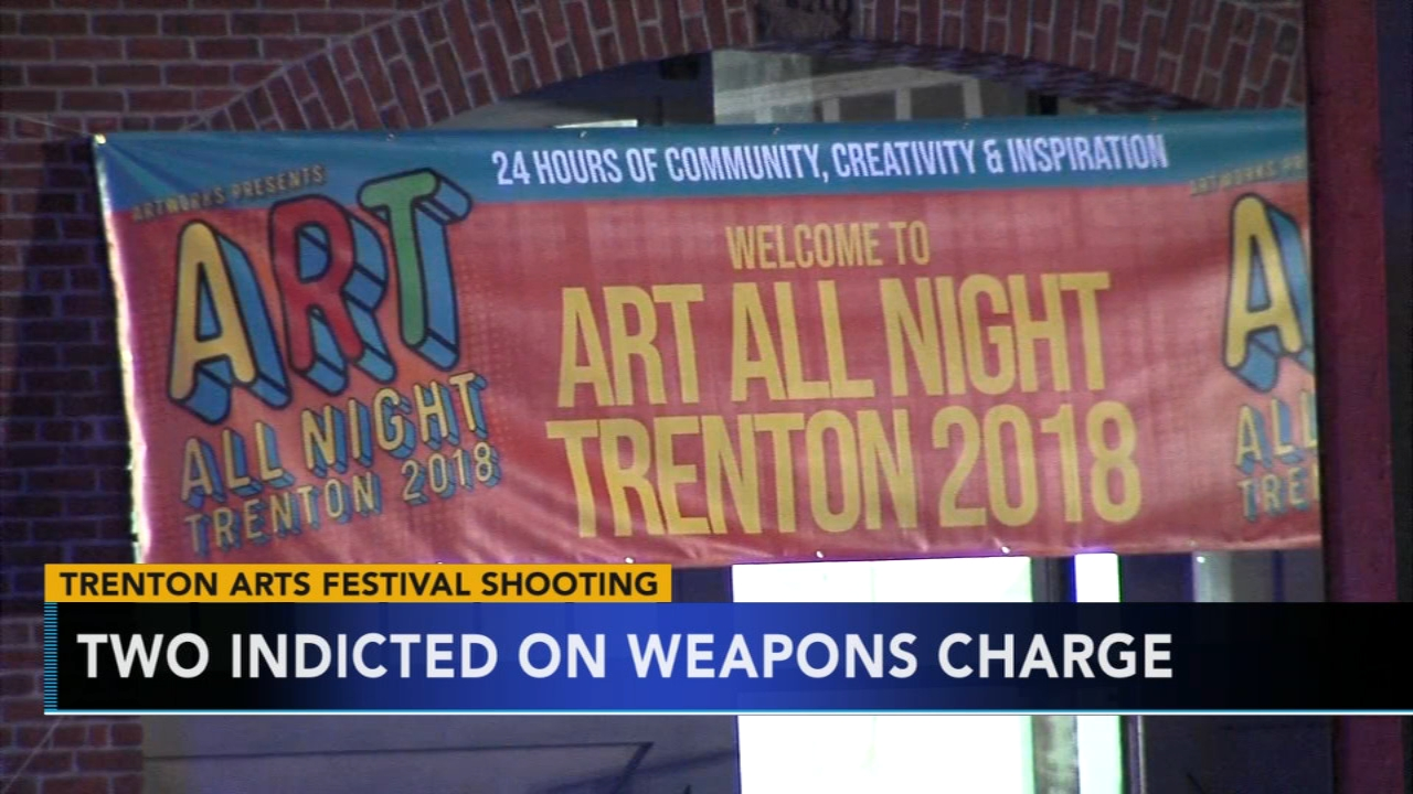 2 indicted on weapons charge in shooting at 24-hour arts festival. Alicia Vitarelli reports during Action News at 6 a.m. on September 15, 2018.