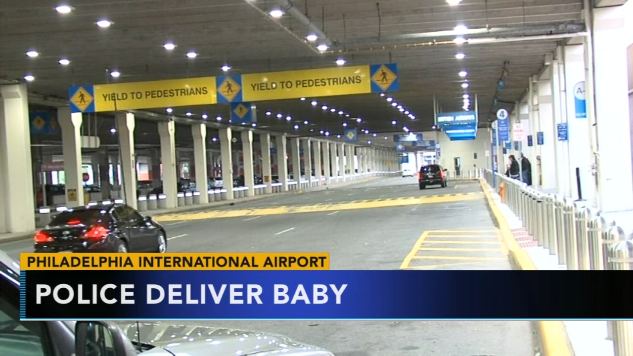 Woman gives birth at Philadelphia International Airport departure gate. Nydia Han reports during Action News at noon on September 16, 2018.