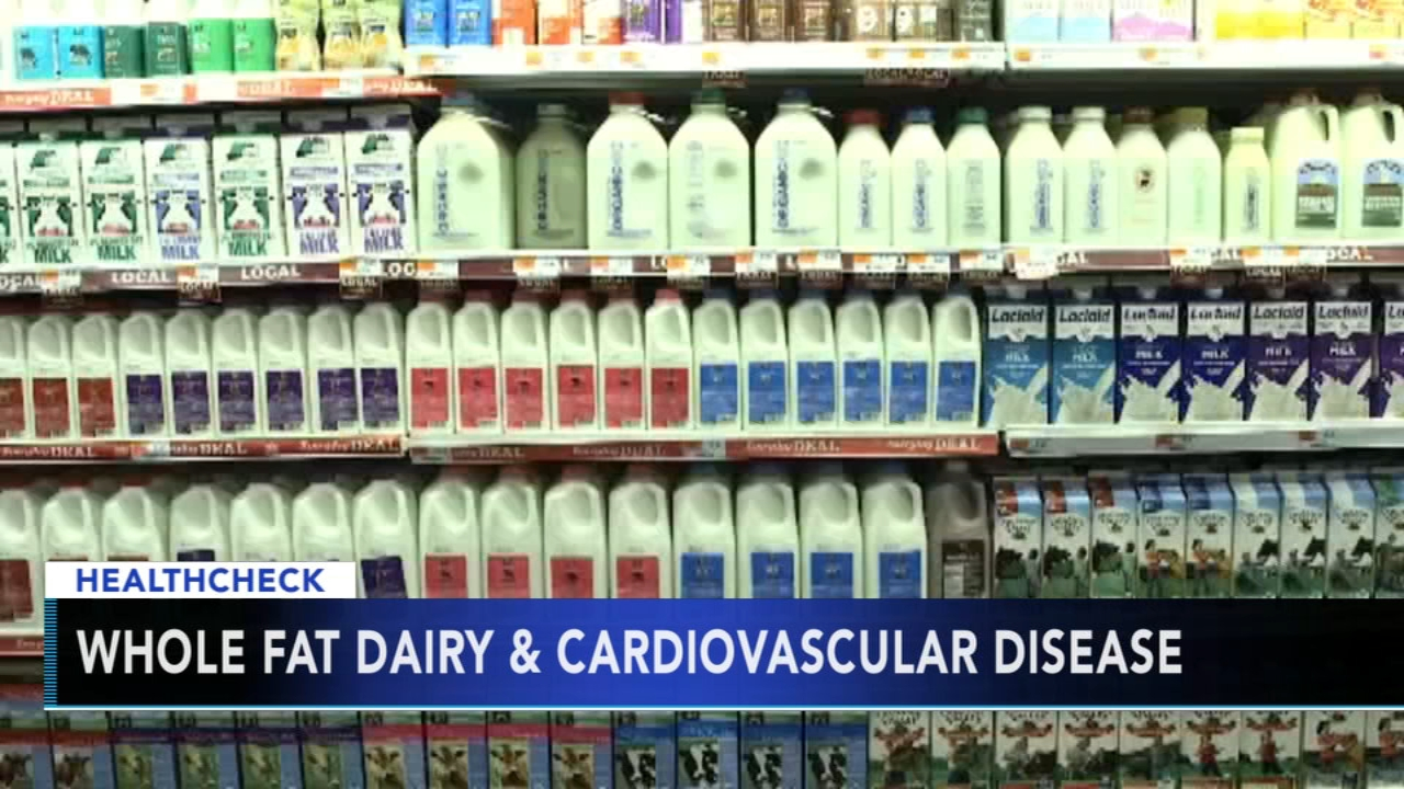 Study shows whole fat dairy may lower risk of stroke. Christie Ileto reports during Action News at 9 a.m. on September 16, 2018.