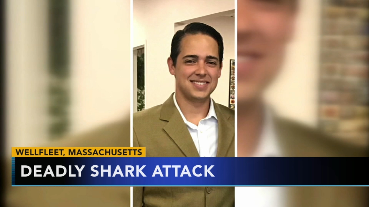 Student engaged to be married killed by shark in Cape Cod. Matt ODonnell reports during Action News Mornings on September 17, 2018.