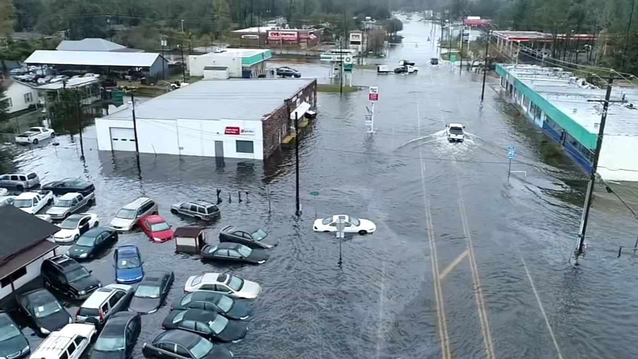 As Florence moves west, North Carolina prepares for recovery. Marci Gonzalez reports during Action News at 4 p.m. on September 18, 2018.