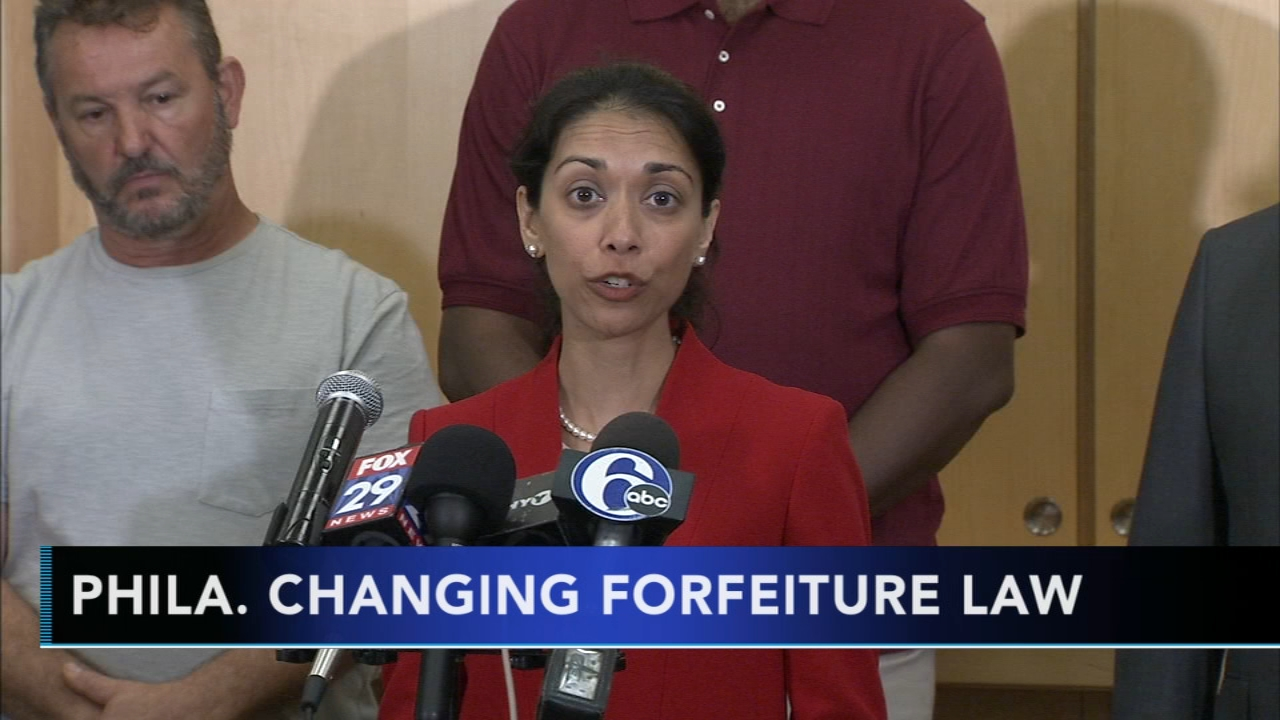 Philadelphia agrees to overhaul property seizure law: as seen on Action News at 4 p.m., September 18, 2018.