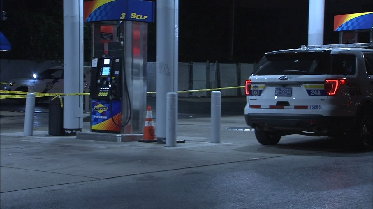 Shooting victims runs to Sunoco station for help. Rick Williams reports during Action News at 12:30 p.m. on September 18, 2018.