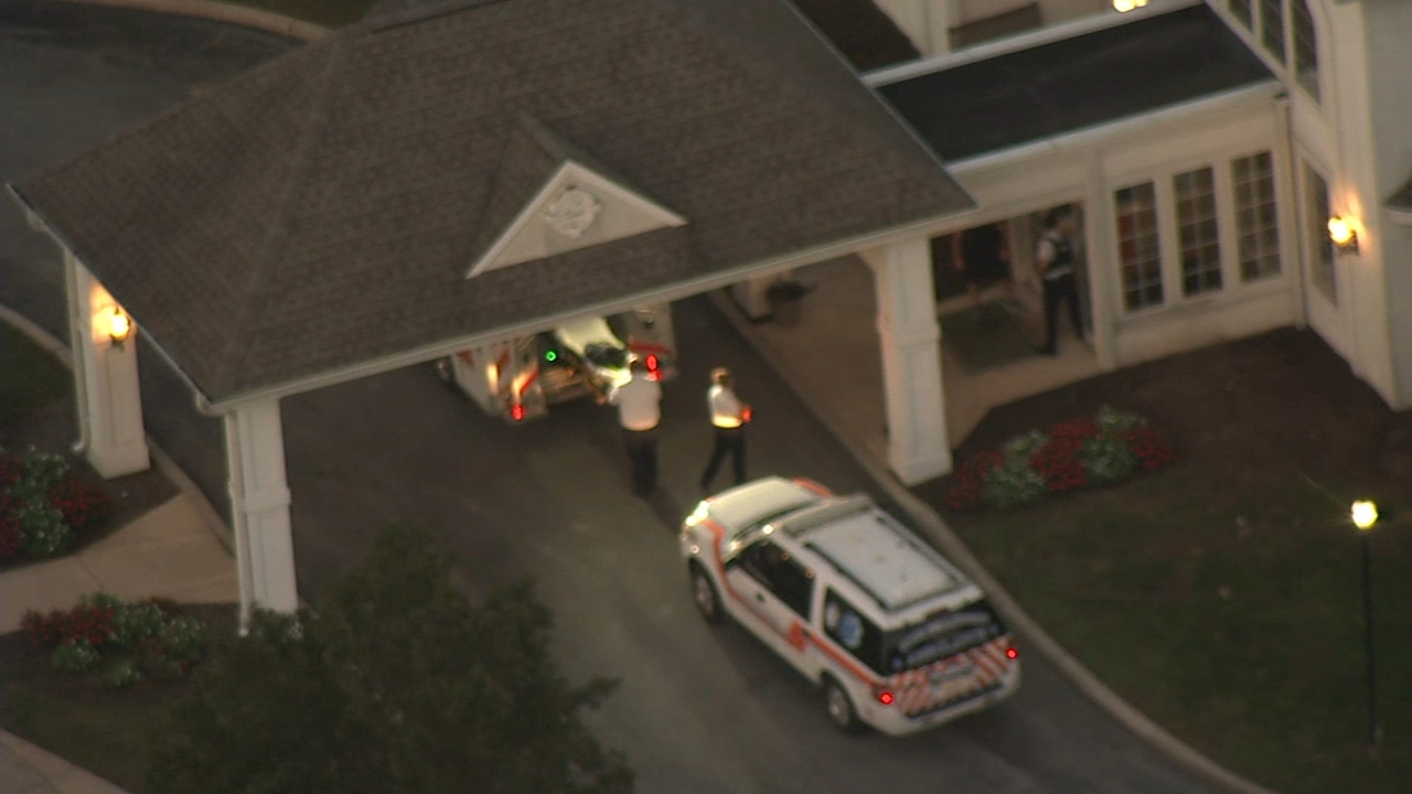 A MASSIVE POLICE RESPONSE UNDERWAY IN CHESTER COUNTY FOR A MAN SUSPECTED OF A SHOOTING AT A RETIREMENT COMMUNITY