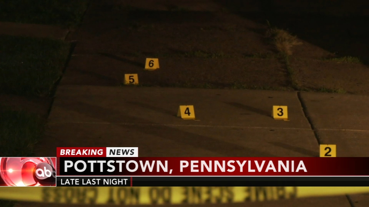 Man shot multiple times in Pottstown. Matt ODonnell reports during Action News at 4 a.m. on September 19, 2018.