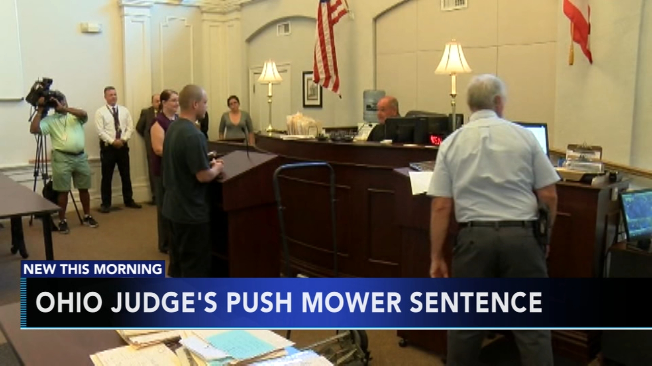 Ohio judge dishes out unusual punishment. Karen Rogers reports during Action News at 5 a.m. on September 19, 2018.