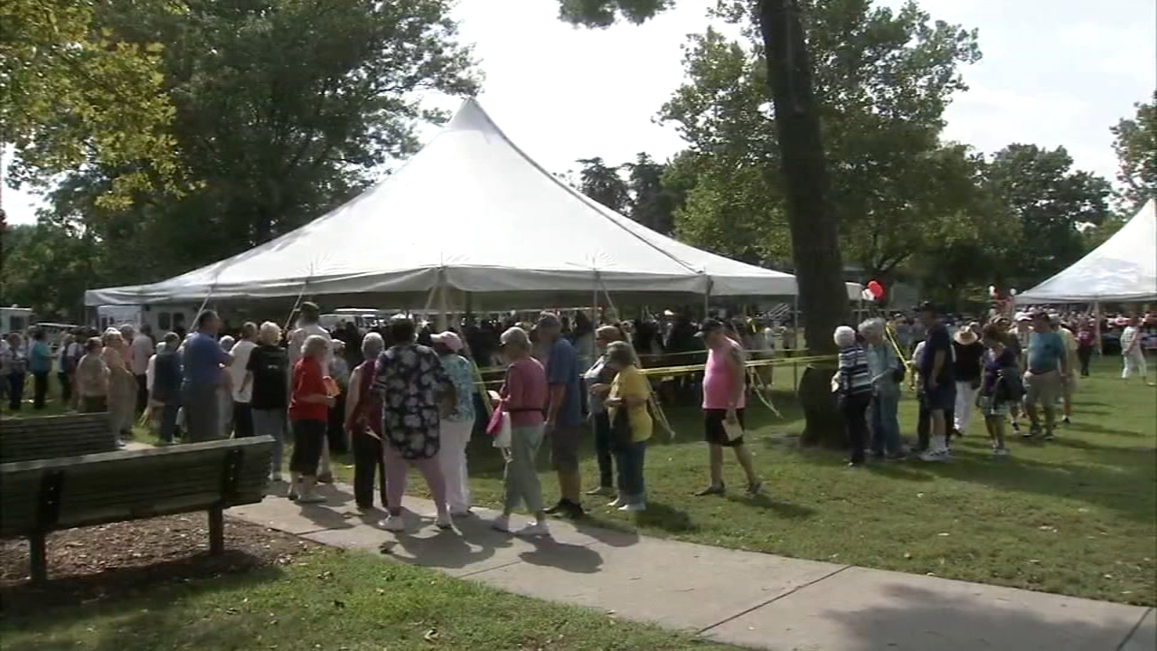 Gloucester County hosted its annual Senior Citizen Picnic for 1,200 county residents as reported during Action News at 4 on September 19, 2018..