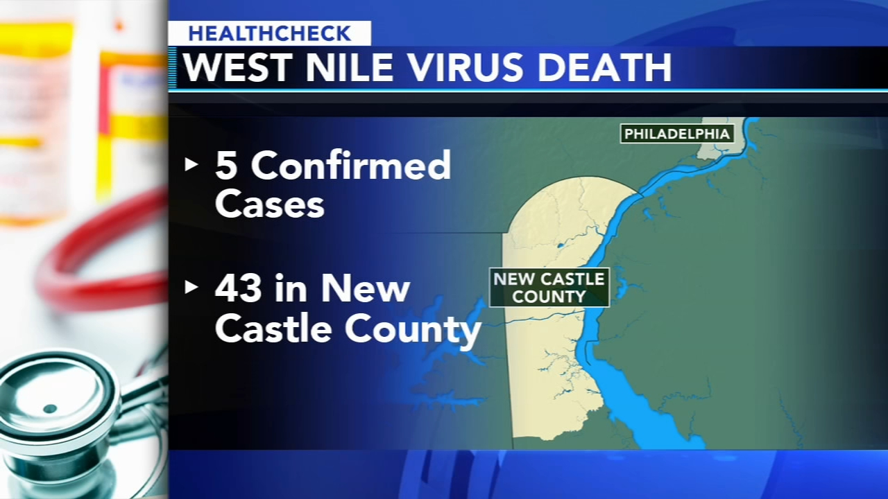 First West Nile Virus death reported in Delaware in 6 years - Ali Gorman reports during Action News at 5pm on September 19, 2018.